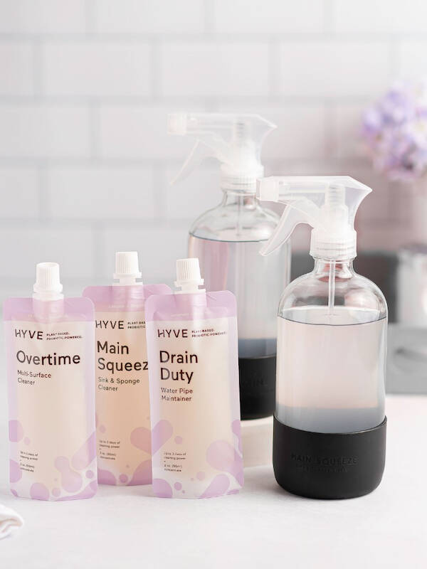 spring cleaning with eco friendly products