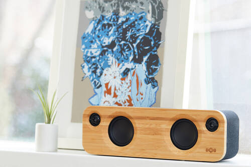 sustainable speaker by House of Marley