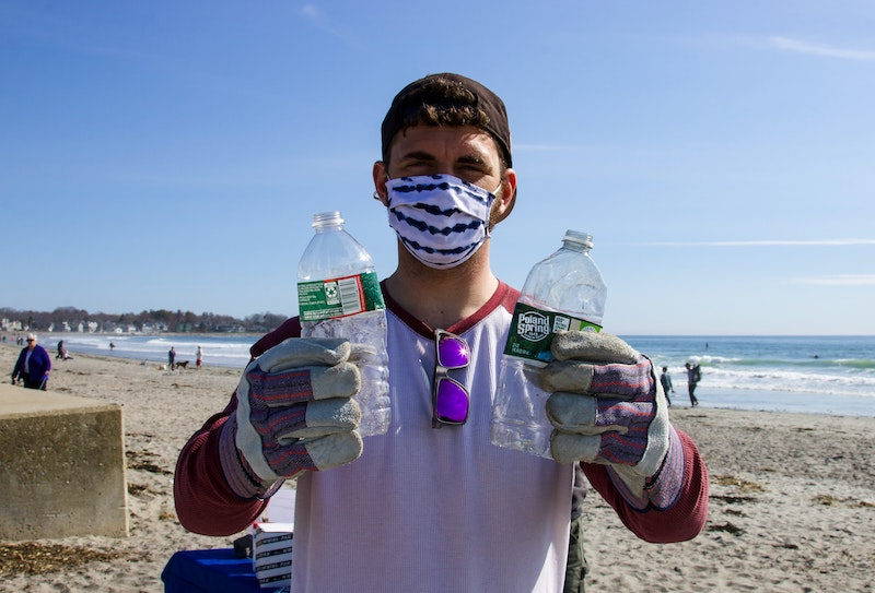 beach clean up for corporate social responsibility